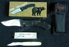 Frost Cutlery Tracker (Locking) and Office Pen Folding Knife Set ***New***