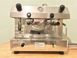 DUAL FUEL COMMERCIAL COFFEE MACHINE FRACINO PERFECT FOR MOBILE COFFEE VAN