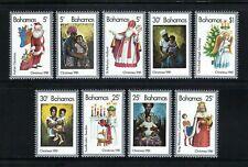 Bahamas 1981 Sc#504a-i   Christmas   MNH Set $7.50