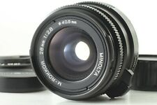 [APPEARANCE TOP MINT] Minolta M-Rokkor 28mm F/2.8 Leica M Mount For CL CLE Japan