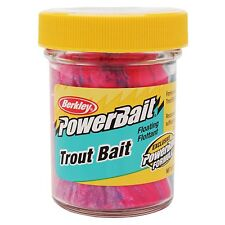 New! Berkley PowerBait Trout Dough Bait Captain America, 1.8 oz Jar 1004792