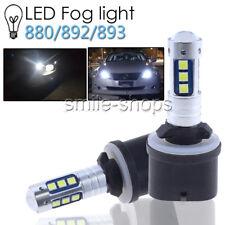 For Chevrolet Silverado 1500 2500 HD 3500 2001-2002 880 3030 LED Fog Light Bulbs