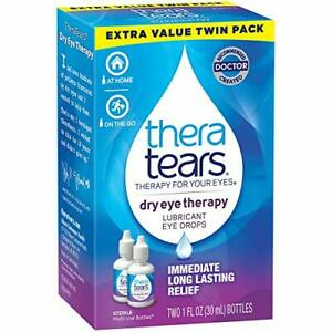 TheraTears Eye Drops for Dry Eyes Dry Eye Therapy Lubricant Eyedrops 30 ml 1 ...