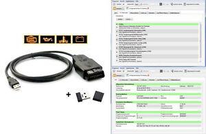 VCD-Tester Diagnosegerät K-Line OBD Volldiagnose geeignet für VW Audi Seat Skoda