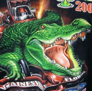 NHRA Gatornationals top-fuel AC Delco drag racing Gainesville med T shirt 2016