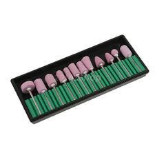 12x Nagelfräser Schleifkopf Schleifstift Schleifkörper für Maniküre Pediküre