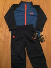 Under Armour Baby Boy24 M Track Sweat Suit NWT Free Shipping