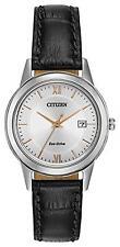 Citizen Eco-Drive Silver Strap Wristwatches