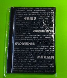 Numis Pocket Coin Album for 60 Coins with secure inserts + free gift