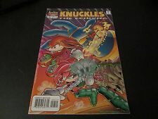 KNUCKLES: THE ECHIDNA #7 RARE AWESOME SONIC RELATED COMIC!!!!