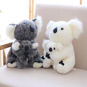 Plush Toys Cute cuddly Koala Bear Stuffed Animal Doll Kids Baby Birthday Gifts