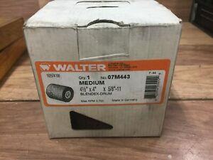 WALTER 07M443 CONDITION DRUM 4 1/2 X 4 X 5/8-11
