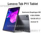 "Lenovo Tab P11 Tablet, Android 10, 11"" 2K (2000 x 1200),4GB RAM,128GB,NEW SEALED"