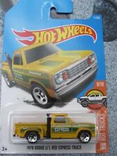 Hot Wheels 2017 # 011/365 1978 DODGE Li'l Rojo Express Camión Amarillo Largo