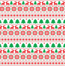 Deer Christmas Sweater Htv Heat Transfer Printed Vinyl Sheet Xmas Pattern Design