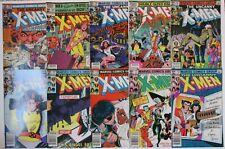 Uncanny X-Men Comic Book Lot 146 151 163 166 167 168 169 170 171 172