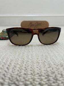 Maui Jim Brown Frame & Lenses MJ267-10M Waterways Sunglasses With Bag & Case
