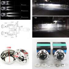 2 x 3 inch Bi-xenon projector lens & Shrouds H1 H4 H7 Car Headlight Retrofit RHD