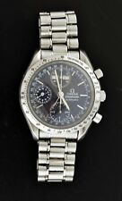 Omega Speedmaster Maison Fondee 39mm Steel Triple Date Automatic Watch 3521.80