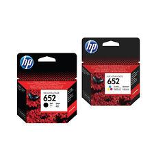 HP 652 Black+ Color Ink Cartridge Original Genuine F6V25AE F6V24AE 4675 3835