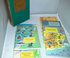 Around The World Program Set 4 American Geographic 5 Books Portugal Plus 1960