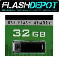 FlashDEPOT- USB Flash Drive- 32 GB- USB 2.0
