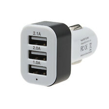 Car Universal 12V 24V To 5V 3Port USB Charger Adapter For Smartphone GPS Nice