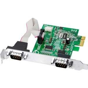 SIIG JJ-E10D11-S3 CyberSerial PCIe-Dual RoHS