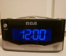 Rca Dual-Wake Cd Player- Am/Fm Radio Alarm Clock with Battery Backup
