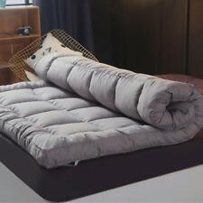 Coton épais MATELAS RESPIRANT LIT Chaud pliable Topper tatami étage Toutes Les T...