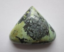 29.90 ct. 100% Natural Tree Frog Variscite Cabochon Gemstone, # DU 009