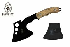 "11"" Camping Mini Hatchet Survival Axe with Nylon Sheath Outdoor Multi Tool Kit"