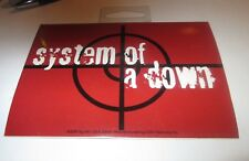 System Of A Down Sticker New 2000 Vintage Oop Rare Collectible