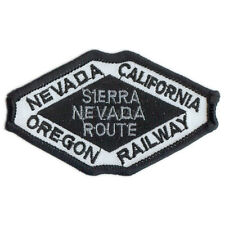 Patch- Nevada–California–Oregon Railway- Sierra Nevada Rt #11265  -NEW-Free Ship
