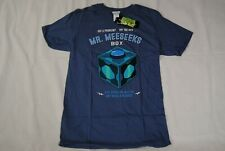 RICK & MORTY MR MEESEEKS BOX T SHIRT NEW OFFICIAL TV SHOW ADULT SWIM CID MERCH