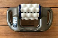 HYSUN Cordless Electric Body Massager 5 Speed Settings & 8 Rollers Infrared