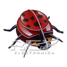 Puzzle 3D Mariquita Insecto Rojo 11 Piezas Ensamblaje ¡Desde ESPAÑA! j120