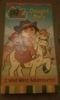 Dora The Explorer Cowgirl VHS Video Tape 2 Wild West Adventures! Nick Jr 879443