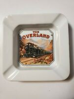 "1985 ""The Overland"" Railroad Ashtray The Gifted Line John Grossman Collection"
