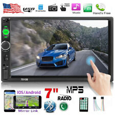 7 Inch 2 Din In-Dash Car Radio Stereo Bluetooth Mirror Link  For GPS  MP5 Player