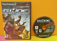 GI Joe Rise of Cobra G.I. - PS2 Playstation 2 -  Game Tested 1 Owner 1-2 players