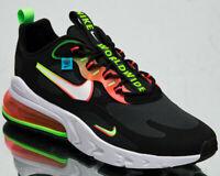 Nike Air Max 270 React Worldwide Men's Black White Green Lifestyle Sneakers Shoe
