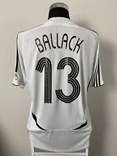 BALLACK #13 Germany Home Football Shirt Jersey 2005-2007 (L)