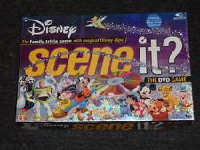 Disney Scene It? DVD Game -Disney- Mattel-Boys & Girls 6-Adult-Complete