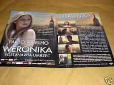 GLOSSY POLISH CINEMA FLYER - VERONICA DECIDES TO DIE
