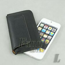 super thin Holster Sleeve Pouch Leather Cover Case for iPhone 5 5G 5S 5C