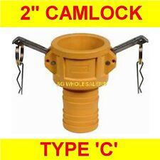 "CAMLOCK NYLON TYPE DC 1/2"" CAM LOCK IRRIGATION FITTING"
