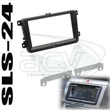 ACV 381320-30-1 doble DIN radio soporte VW t5 passat cc Golf VI plus Skoda