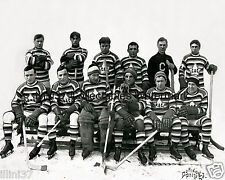 1912-13 MONTREAL CANADIENS HOCKEY 8X10 TEAM PHOTO PICTURE