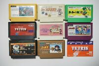Famicom 8 FC game lots US Seller